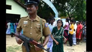 வடமாகாணத் தேர்தல் வாக்குப்பதிவு