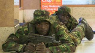 ကုန်တိုက်ကြီးကို ကင်ညာ စစ်တပ်က ပြန်သိမ်းနေစဉ်