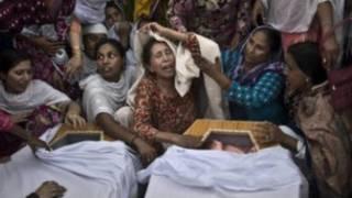 زنان و کودکان نیز در بین قربانیان بودند