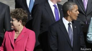 Presidentes Dilma Rousseff e Barack Obama (foto: Reuters)