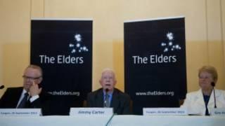 The Elders in Rangoon