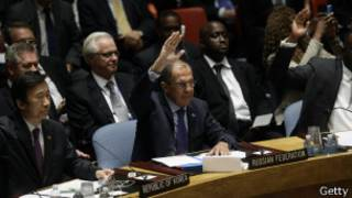 संयुक्त राष्ट्रसंघीय सुरक्षा परिषदमा मतदान गरिंदै