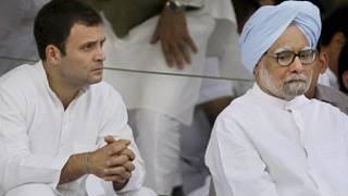राहुल गांधी और मनमोहन सिंह