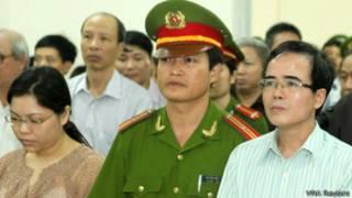 Phiên tòa xử Lê Quốc Quân