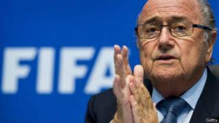 Sepp Blatter. Foto: Getty