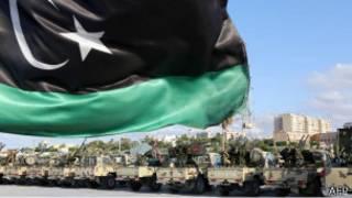 Vehículos militares libios