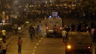 काहिरा की सड़कों पर मोहम्मद मोर्सी के समर्थक