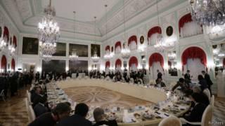 Дворцовый зал Петергофа