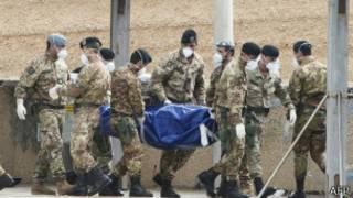 意大利海軍人員發現更多屍體
