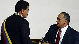 Nicolás Maduro, Diosdado Cabello