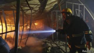 пожежа у Бангладеш