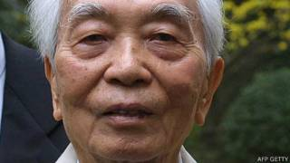 Đại tướng Võ Nguyên Giáp hồi năm 2012