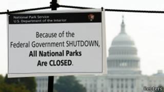 Сообщение о закрытии всех национальных парков США