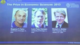 Eugene Fama, Lars Peter Hansen, dan Robert Shiller