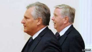 Работа миссии Кокса-Квасьневского началась в июне прошлого года
