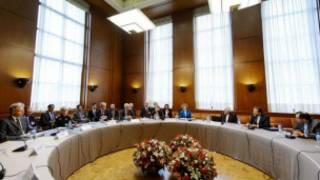 ईरान के परमाणु कार्यक्रम पर बातचीत