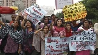 दिल्ली बलात्कार का विरोध