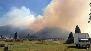 incendio en nueva galesdel sur, australia