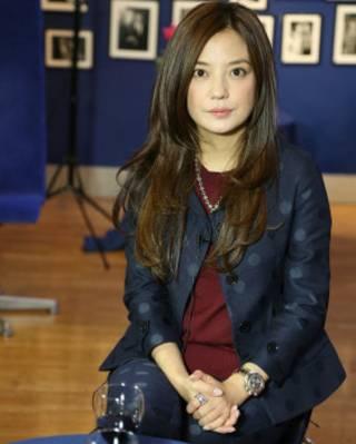 趙薇接受BBC英倫網專訪(攝影:張程)