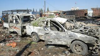 Vụ nổ ở Hama