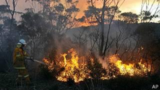 ऑस्ट्रेलिया आग