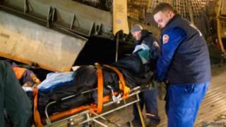 Пострадавшие в результате взрыва в Волгограде