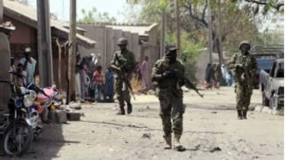 Jami'an tsaro a jihar Bornon Najeriya