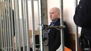 Даниил Константинов в суде