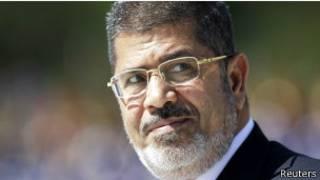 Abo bakobwa bari mu myigaragamyo yo gushyigikira Mohammed Morsi
