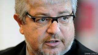 Ricardo Trade, CEO do COL. Foto: Emma Lynch/BBC