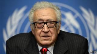 Специальный представитель Лиги арабских государств по Сирии Лахдар Брахими