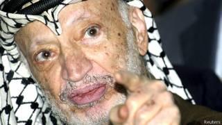 Yasser Arafat. Reuters