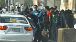 Мигранты в ожидании депортации