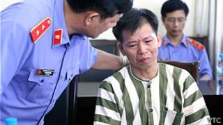 Ông Nguyễn Thanh Chấn trước khi được tự do