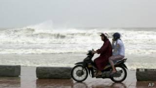 На побережье во Вьетнаме