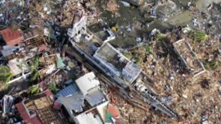 إعصار هايان يخلف دمارا واسع النطاق