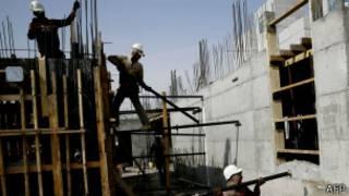 Construcción en asentamiento judío