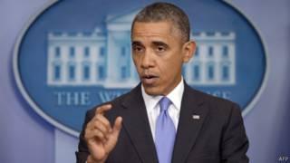 Президент Обама в Белом доме