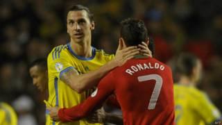 Ronaldo y Abrahimovic