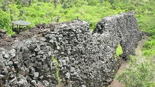"""""""Muro de las Lágrimas"""" en Islas Galápagos"""