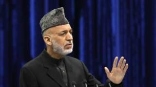 Hamid Karzai, Shugaban Afghanistan