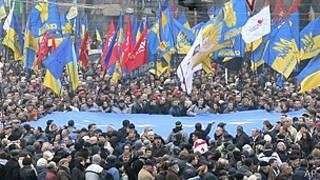 Manifestaciones en Kiev