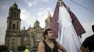 Exorcismo no México | Crédito: AP