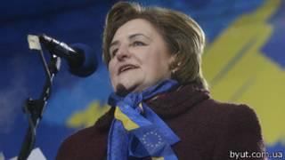 Лорета Граужинене выступала вместе с лидерами оппозиции на Евромайдане
