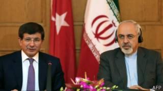 محمد جواد ظریف و احمد داوود اوغلو