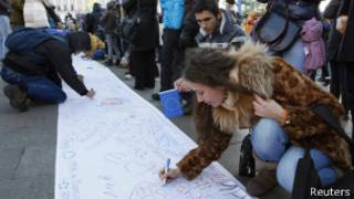 Студенты в Киеве подписывают петицию