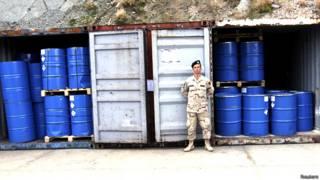 रासायनिक हथियार, सीरिया