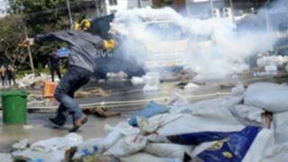 تظاهرات ضددولتی در تایلند (عکس از آرشیو)