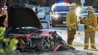 Automóvil donde murió Paul Walker