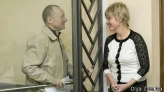 Михаил Савва с женой